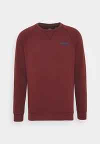 DOCKERS - LOGO CREWNECK - Sweatshirt - chestnut red - 0