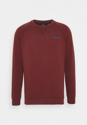 LOGO CREWNECK - Sweatshirt - chestnut red