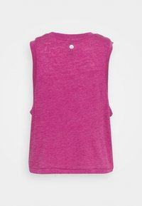 Cotton On Body - ALL THINGS FABULOUS CROPPED MUSCLE TANK - Top - boysenberry washed - 6