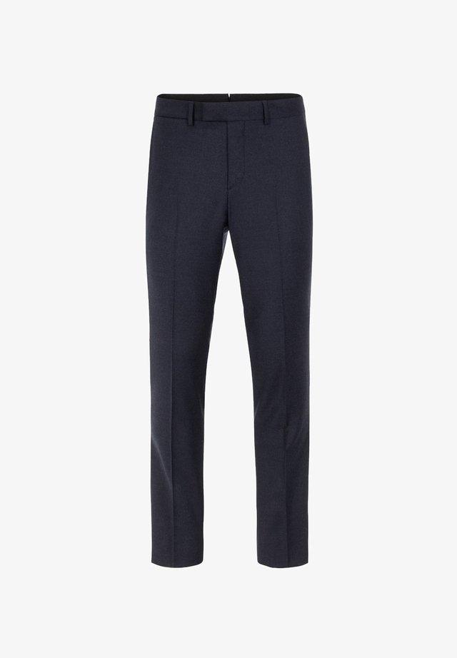 GRANT FLANNEL - Spodnie garniturowe - navy melange