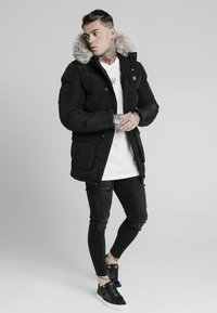 SIKSILK - STOP PUFF - Winter coat - black