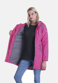 Dingy Rhythm Of The Rain - DINGY RHYTHM OF THE RAIN REGENMANTEL AMY - Parka - rose rot - 2