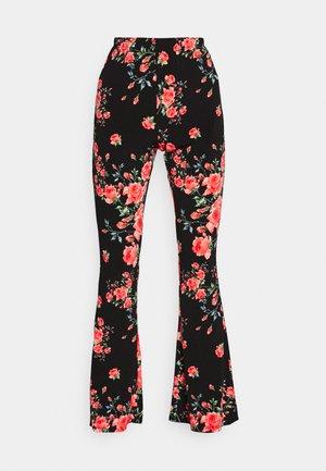 VICOSMO FESTIVAL PANTS - Pantalones - black