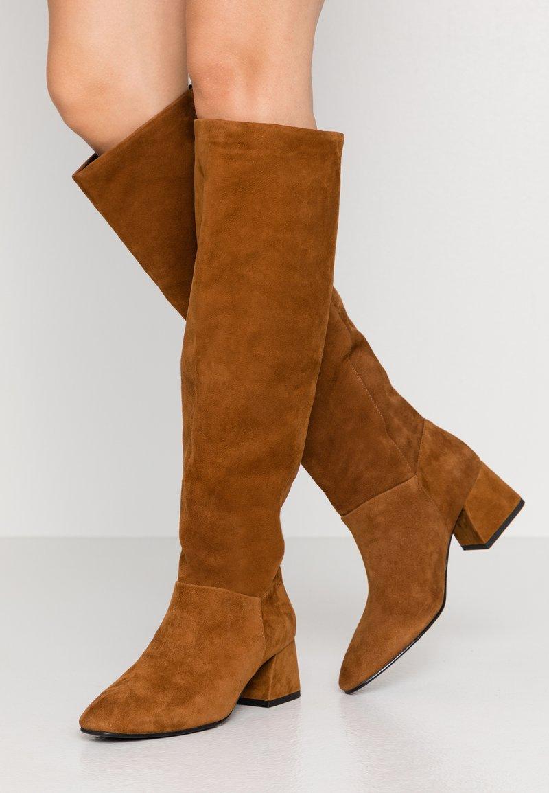 Vagabond - ALICE - Høje støvler/ Støvler - caramel