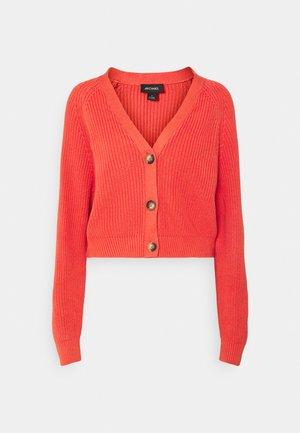 Cardigan - orange medium