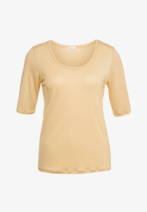 ELBOW SLEEVE - Basic T-shirt - toffe beige