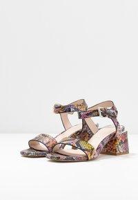 CAFèNOIR - Sandaalit nilkkaremmillä - multicolor/rosa - 4
