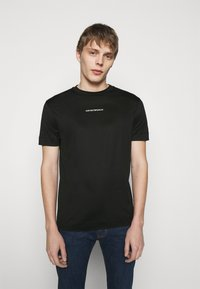 Emporio Armani - EXCLUSIVE  - T-shirt basic - black - 0