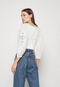 Farm Rio - BLOUSE - Long sleeved top - off-white - 2