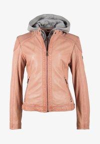 Gipsy - ABBY - Leather jacket - rose - 6