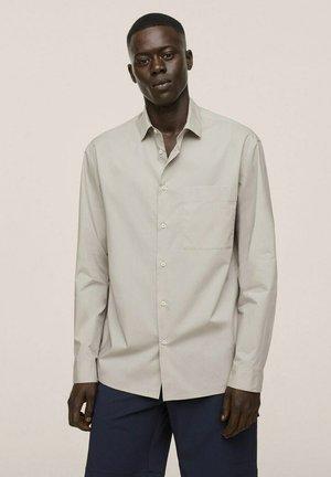 RELAXED FIT - Formal shirt - hellgrau/pastellgrau