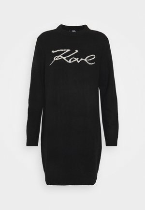 LONG SIGNATURE - Jumper - black