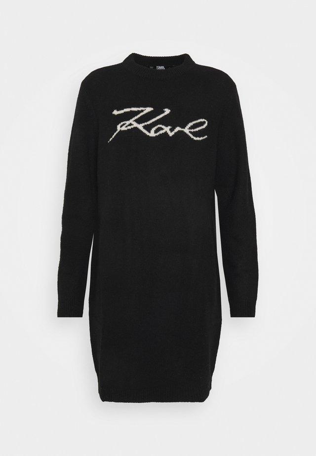 LONG SIGNATURE - Pullover - black