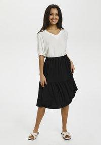 Kaffe - BPJILLA  - A-line skirt - black deep - 1
