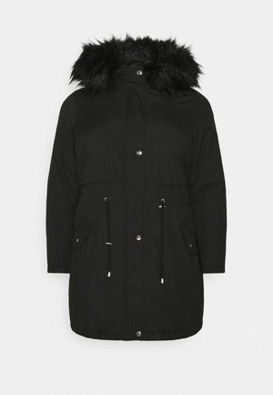 LI HOODED - Parkaer - black