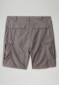 Napapijri - HANAKAPI - Shorts - grey gargoyle - 9