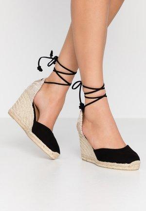CARINA  - Højhælede sandaletter / Højhælede sandaler - black