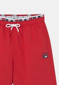 Fila - RENE SWIM - Swimming shorts - true red - 2