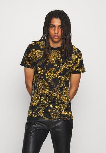 REGALIA BAROQUE - Print T-shirt - nero/oro