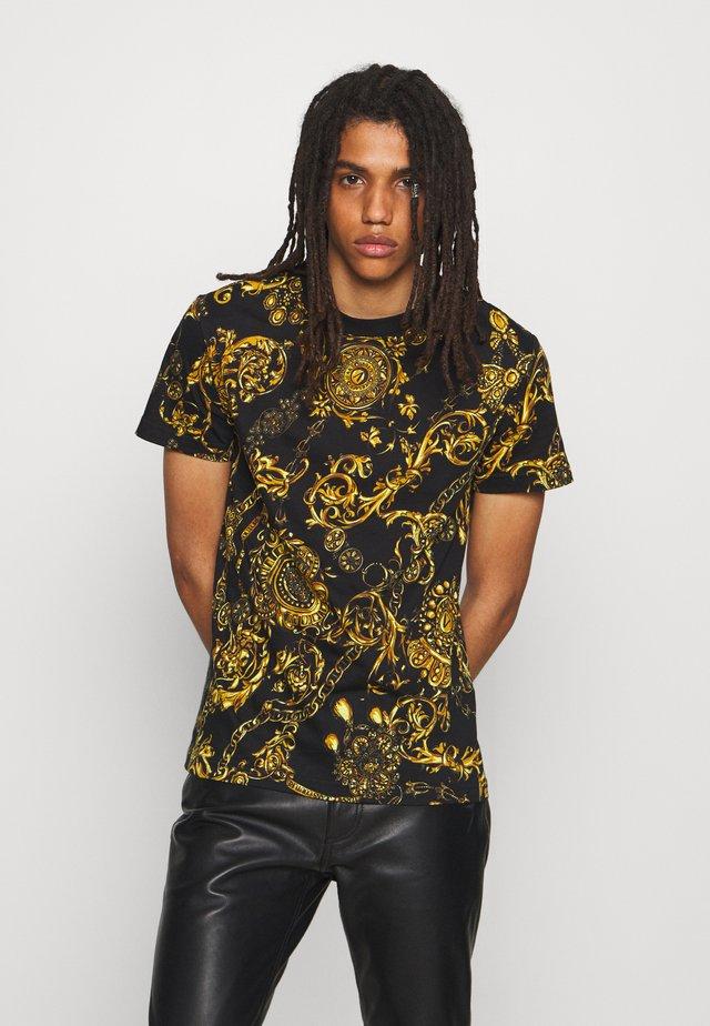 REGALIA BAROQUE - T-shirt imprimé - nero/oro