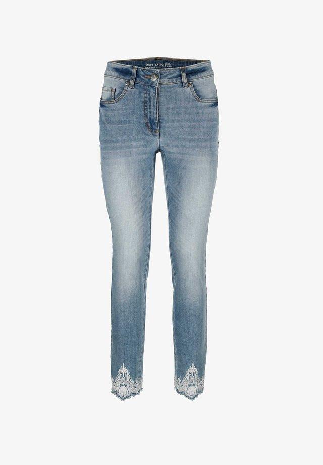 Slim fit jeans - blue bleached