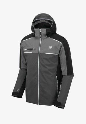 INTERMIT II  - Ski jacket - ebony/black