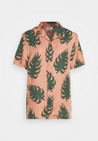 ARVID - Button-down blouse - apricot