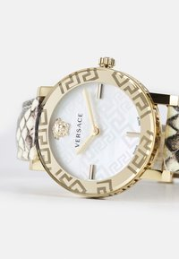 Versace Watches - GRECA - Hodinky - gold-coloured/white - 4