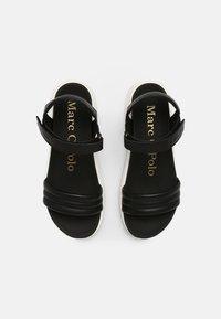 Marc O'Polo - SPORTY - Platform sandals - black - 4