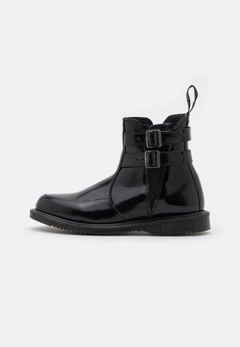FLORA  - Kotníkové boty - black