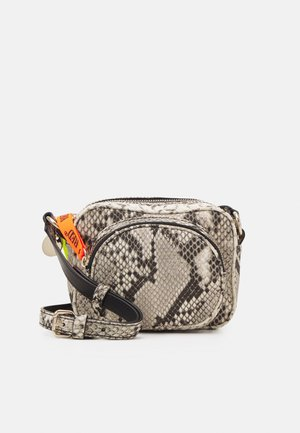 CROSS BODY BAG - Across body bag - roccia/nero