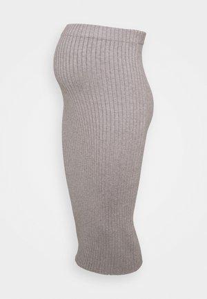 MIDI SKIRT - Pencil skirt - grey