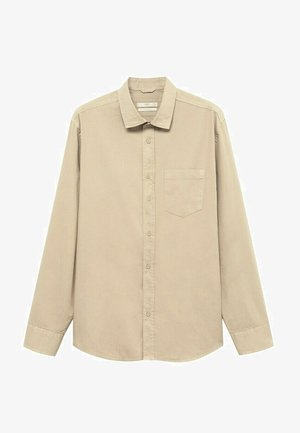 RELAXED-FIT - Shirt - beige