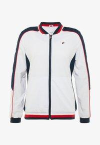 Fila - JACKET AMANDA - Sportovní bunda - white/blue/red - 3
