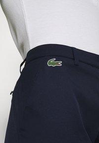 Lacoste Sport - GOLF PANT - Spodnie materiałowe - navy blue - 4