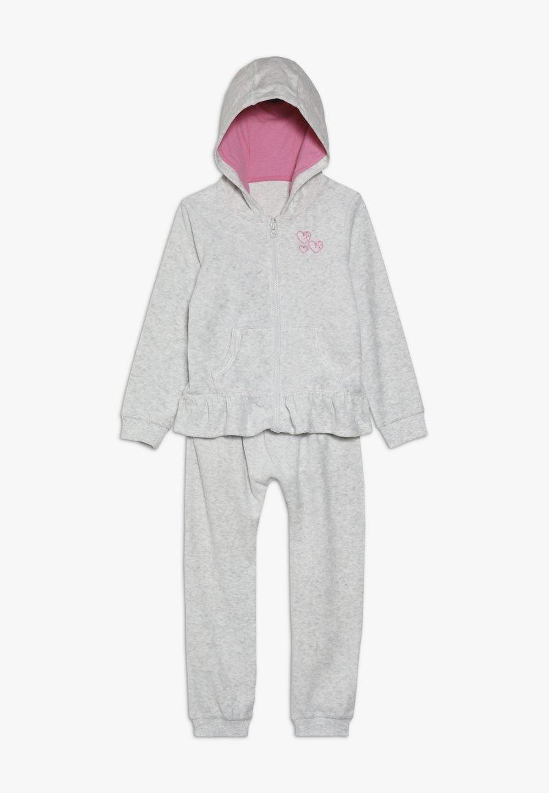 mothercare - SET - Mikina na zip - grey