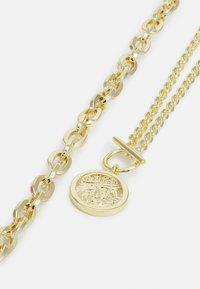 SNÖ of Sweden - DAY BIG NECK PLAIN 2 PACK - Necklace - gold-coloured - 2