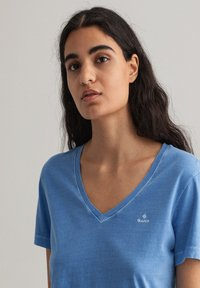 GANT - SUNFADED - Print T-shirt - pacific blue - 3