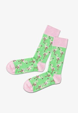 Calze - pink green