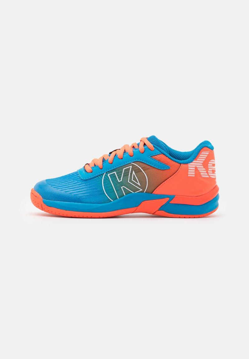 Kempa - ATTACK 2.0 JUNIOR UNISEX - Handball shoes - blue/flou red