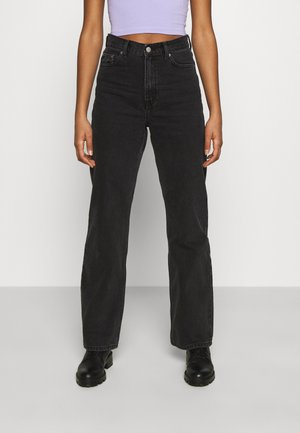 ECHO - Straight leg jeans - concrete black