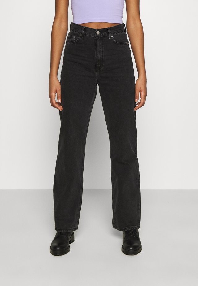 ECHO - Jeans straight leg - concrete black