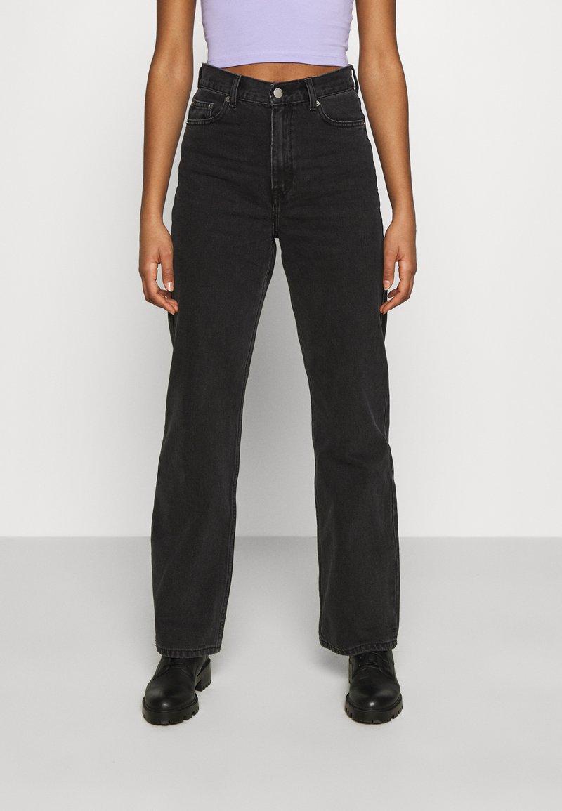 Dr.Denim - ECHO - Jeans straight leg - concrete black