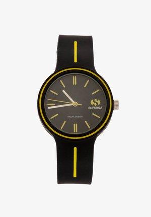 RACING - Hodinky - black/yellow
