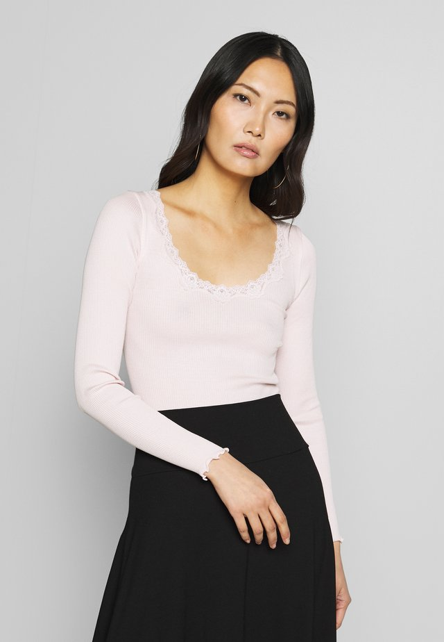 Camiseta de manga larga - soft rose