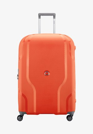 Wheeled suitcase - orange
