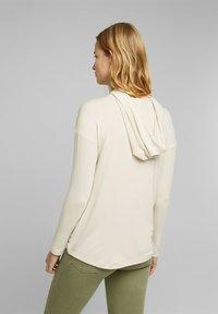 Esprit - FASHION - Long sleeved top - cream beige - 2