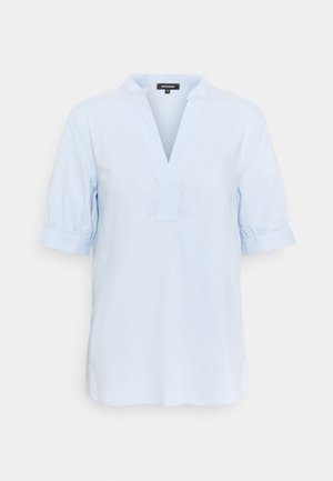 Blouse - soft blue