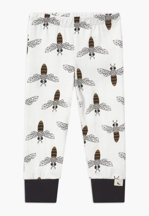 HONEY BEE - Leggings - white