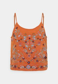 YAS - YASCHELLA SINGLET - Top - autumn leaf - 0